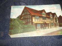 VINTAGE POSTCARD COLOUR SHAKESPEARE'S HOUSE STRATFORD UPON AVON BB SERIES 76